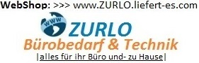Besuchen Sie unser WebShop >>> www.ZURLO.liefert-es.com